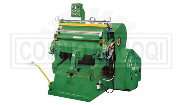 Creasing & die cutting machine