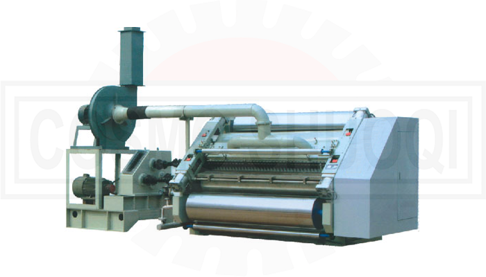 double roller single facer machine - cosmo shuoqi